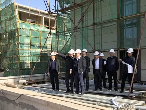 集团公司董事长郑富核调研国信地产公司在建项目
