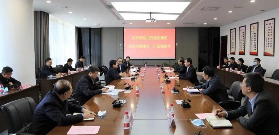 山西金控集团党委书记、董事长张炯玮带队赴省国资运营公司进行工作访问
