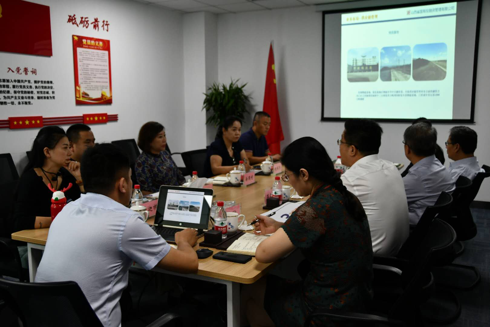 江苏悦达港口物流发展有限公司总经理徐周利一行来访