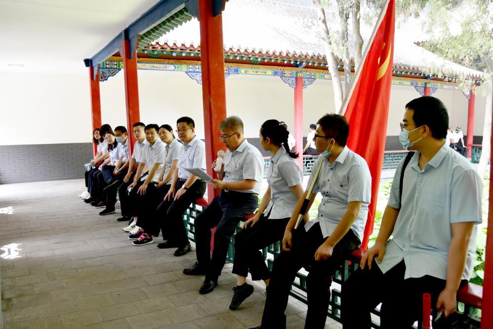 投融资公司党支部召开庆祝中国共产党成立100周年专题党课学习会